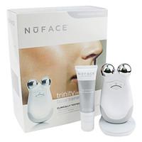 cuidado de la piel de las mujeres al por mayor-Nuface Trinity Pro Kit de limpieza facial Herramientas de cuidado de la piel de limpieza Dispositivo de limpieza facial para mujeres Dispositivo de limpieza sin DHL