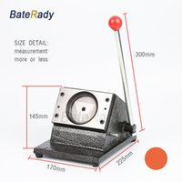 Wholesale paper punch cards - BateRady Circle Round PVC card punching machine,paper,identity,Identification Card paper cutter,Dia.25 32 40 44 54 58mm,Customized