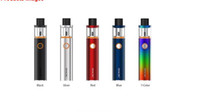 Wholesale Black Metal Fans - SMOK Vape Pen 22 Kit With 1650mah Battery All-in-one Vapor System LED indicator Design Multiple Automatic Protections 100% Original