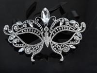 kıyafet elmas toptan satış-Kadın Taklidi Elmas Dans Yarım Yüz Maskesi Avrupa ve Amerika Masquerade Malzemeleri