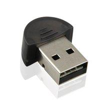 бесплатная компьютерная поддержка оптовых-Свободный привод USB Bluetooth Dongle адаптер поддерживает высокую скорость стабильности Win7 компьютер чип CSR Bluetooth приемник передачи