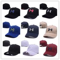 sombreros cabidos hombres al por mayor-Caliente de alta calidad Marca Snapback Caps Casquette Ajustable Sombrero Fútbol Hombres Mujeres Hip hop equipado Baloncesto Béisbol Sombrero Street Dancing