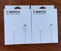 Wholesale bracelet power - For apple smart watch charger cable Magnetic Power charging cable 38mm 42mm Charging short battery cable for smart bracelet with package