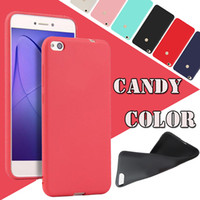 Wholesale Max Skin - Ultra thin Slim Candy Color Matte Frosted Soft TPU Silicone Gel Rubber Shockproof Cover Case Skin For Xiaomi 6 Plus 6x 5S Note 3 2 Max 2