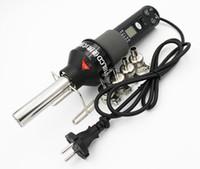estación de pistola de aire al por mayor-8018LCD 110V / 220V 450W Pantalla LCD Temperatura ajustable Pistola de aire caliente Estación de soldadura para desoldar con 9 boquillas de aire caliente