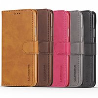 Wholesale Magnetic Flip Leather Wallet Cards Case Cover For Huawei Samsung iphone xiaomi inside soft TPU Case Cover