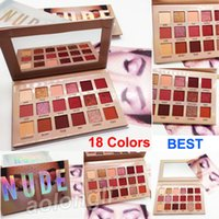 Wholesale nude eye palettes for sale - Beauty New NUDE eye shadow palette makeup Colors eyeshadow matte shimmer Eyeshadow highly pigmented shades Best quality palette
