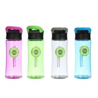 Wholesale branded drink bottles - ZanNuo Brand Leak-Proof Seal bottle With handleNozzle Sport Outdoor travel Bicycle Plastic Water Bottles With Cover Lip Filter