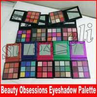Wholesale warm eye shadow for sale - Group buy 9 Colors Eyeshadow Palette obsessions Makeup Eye shadow Smokey Mauve Electric Warm Brown Topaz Amethyst Ruby Emerald Sapphire Coral Gemstone