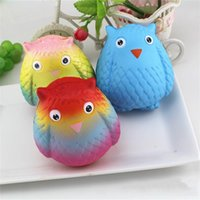 Wholesale x gifts online - Owl Shape Slow Rising Squishy Lovely Elasticity Stretch Squishies Cartoon Decompression Toy Novelty Children Gift ca X