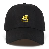 2018 New Born Sinner Crown Baseball Cap Curved Bill embroidery Dad Hat  Cotton Cole World of Good Quality Brand Cap Men Women d3cc4123f579