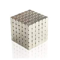 Wholesale magnetic ball puzzles - 3mm 4mm 5mm Size 216pcs Cube Magnetic Balls 6*6*6 Magico Magnet Puzzle Educational Toy Metaballs dhl OTH867