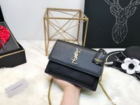ingrosso borse stella nera-2018 New Paris Saint Woc Star Lover Lanvin Borsa a tracolla Luxury Brand Black Stuff Sacchi Messenger Bag Outdoor Borsa Spedizione gratuita