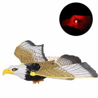 Wholesale Flash Electrical - Xmas sale Electronic Eagle Sling Hovering Hawk Birds Toy with Flashing Sounding Electrical Pet gifts for kids Chrismas FREE SHIP