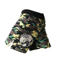 майа тайские боксерские шорты оптовых-Mma Shorts Боксерские штаны Boxe Муай Тай Короткие Mma Camo Муай Тай Брок Леснар Шорты для кикбоксинга Борьба с износом ММА Брюки Стволы