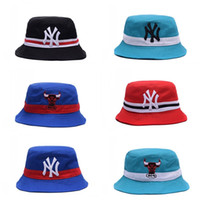 Fashion Hip Hop Dance Bucket Hat Sun Visor Breathable Fisherman Church Cap  Men And Women Sea Beach Travel Wide Brim Caps 76bc ZZ 9e16c8155f6c