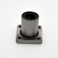 cnc doğrusal şaft toptan satış-20mm Linear Shaft için CNC Parçaları Rulman 4adet LMK20UU 20mm x 32mm x 42mm Flanş Doğrusal Topu