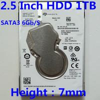 sabit disk toptan satış-Yeni Seagate 1TB 2.5 Masaüstü HDD Dahili Sabit Disk Sürücüsü 5400 RPM SATA 6Gb / s 128MB Önbellek 2.5 Dizüstü sabit sürücü 1TB