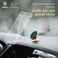 ingrosso iphone movil-Baseus 360 gradi universale supporto da auto magnetico supporto del telefono mobile Soporte Movil supporto del telefono veicolare per iphone x per samsung s9 s9 +