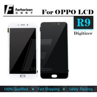 Wholesale For OPPO R9 or R9S LCD Display Touch Screen Panel Digital Replacement With frame
