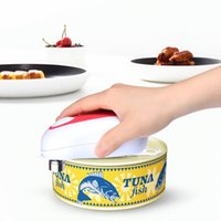 Wholesale electric kitchen gadgets resale online - Automatic Hands Free Electric Can Opener Kitchen Gadgets Kitchen Tools