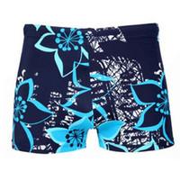 Klug 2018 Schriftsätze Der Männer Shorts Komfortable Männer Schwimmen Briefs Sommer Mittlere Taille Sexy Strand Druck Heißer Verkauf Badehose Body Suits Schwimmen