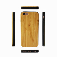 Wholesale bamboo mobile online – Newest Arrival Wood TPU Cases For Iphone X plus s shock proof Wooden Bamboo Mobile Phone Cover For Samsung Note s9 s8 s7 s6 edge