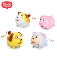 Wholesale lamb toys - yuanlebao Electric Walking Moving Dog Pet Cat Lamb Piggy Toys Interactive Toy Dog for Kids Baby Birthday Christmas Gift Toys