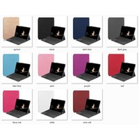Wholesale universal tablet skins resale online - Hot New Slim Magnetic Stand Flip Cover Good PU Leather Case for Microsoft Surface Go inch Tablet Protective Skin Shell