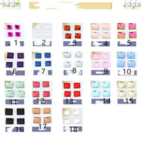 Square 3MM-20MM Austria Crystal Beads charm Glass Beads Loose Spacer Bead for DIY Jewelry Making