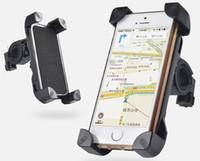 motorlu tezgahlar toptan satış-Bisiklet Motor Cep Telefonu Tutucu iphone 5 5 s se 6 6 s 4.7 6 Artı 5.5 7 7 artı Gidon Bisiklet Motosiklet Gps Standı Dağı