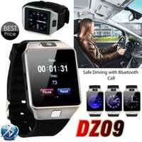Wholesale record camera hot for sale - HOT Sale DZ09 Smart Watch Bluetooth Wristbrand Android Smart SIM Intelligent Mobile Phone Watch with Camera Can Record the Sleep State
