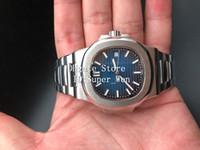 Wholesale transparent sapphire - Best Quality Luxury Sapphire Wristwatches 40mm Nautilus 5711 1A Mechanical Transparent Automatic Movement Self-wind Men's Watch Watches