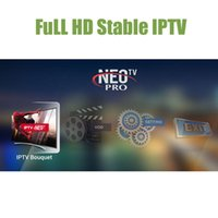 tv андроиды палочки оптовых-Neotv IPTV подписка 1800 каналов один год французский арабский для Apple TV Fire Stick Android TV Box
