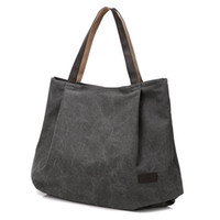 Wholesale tablets school for sale - Women s Casual Canvas Shoulder Hand Bag Stylish Tablet Weekend Shopping Tote bag for Women School Work Travel and Shopping