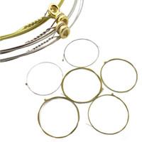 cuerdas de bronce al por mayor-Cuerda de guitarra acústica Rhinos Cuerda de bronce 80/20 RD535SL .011-.052 Super Light