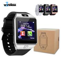 Wholesale dz09 smart watch for sale - High quality battery DZ09 Smart Watch Dz09 Watches Wristband Android Watch Smart SIM Intelligent Mobile Phone Sleep State Smart watch