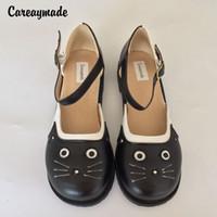 eva cabeça venda por atacado-Careaymade-tamanho Grande 2017 puro Handmade natrual sapatos de couro,