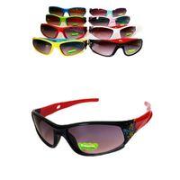 çocuklar güneş gözlüğü uv toptan satış-Karikatür çocuk spor Kayak güneş gözlüğü sürme çocuklar için Güneş Gözlüğü rüzgar geçirmez UV güneş cam dışında dekorasyon güneş gözlükleri 8 renkler YYA1227