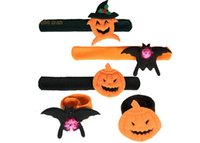 online Pats Led - Halloween Christmas Gift Luminous Hand Ring Pops Circle Pat Circle Halloween LED Flash Bracelet YH217