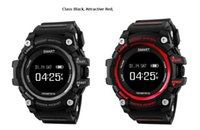 Wholesale Photo Call - Smart Sport Watch T1 with Real-Time Heart Rate Remote Photo Fitness Tracker Fashion Design 0.96 inch OLED Screen