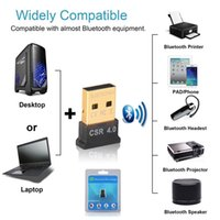 Wholesale Bluetooth receiver USB Bluetooth Audio Music Adapter Converter CSR chip suit support winXP For PC laptop