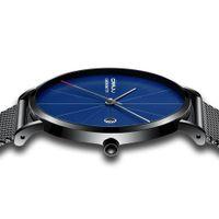 тонкие часы для женщин оптовых-CRRJU Ultra thin Men's Watches Top  Stainless Steel Casual Quartz Waterproof Wrist Watch for Woman Relogio Masculino