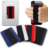 cep telefonları için geri çıkartmalar toptan satış-Yaratıcı cep telefonu paramparça dayanıklı bandaj geri sticker Tablet PC anti-damla cihazı toptan