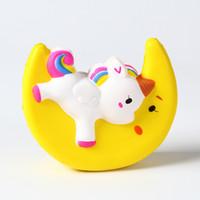 pasta sütü toptan satış-Squishy Oyuncak Çilekli Kek patlamış mısır süt hamburger squishies Yavaş Yükselen 10 cm 11 cm 12 cm Yumuşak Sıkmak Sevimli Kayış hediye Stres çocuk oyuncakları