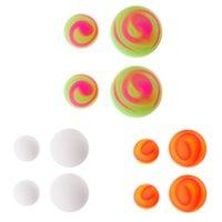 cojín de enfriamiento de la bola al por mayor-1 Conjunto de colores Portátil Refrigerador Enfriador Enfriador Soporte Pelota Pies Antideslizante Pierna Resbalones antideslizantes Nuevo diseño