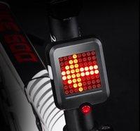 usb führte ladeanzeige großhandel-Fahrrad-Licht-automatischer Richtungsanzeiger-Rücklicht USB, das MTB-Fahrrad-Sicherheits-Warnlicht auflädt