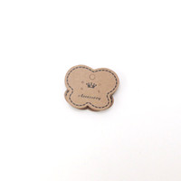 Wholesale diy jewelry cards online - Hot Sale Heart Shape cm Kraft Paper Jewelry Earring Cards Jewelry Display DIY Price Tags