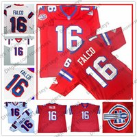 Wholesale movie filmed - The Replacements Movie #16 Shane Falco Red White Keanu Reeves Stitched The Film Washington Sentinels Cheap Football Jerseys Size S-4XL