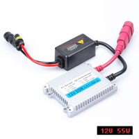 Wholesale xenon 55w ballast - 2018 Direct Selling Promotion 2pcs 12v Xenon Ballast 55w Digital Slim Block Ignition Electronic For Kit H7 H4 H1 H3 H11